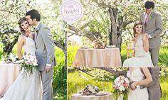 Style Inspiration: Spring Garden Wedding in a Blooming Apple Orchard Blooming Apples, Wedding Inspiration, Style Inspiration, Apple Orchard, Spring Garden, Garden Wedding, Pastels, Floral Design, Canada