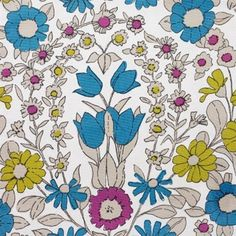 Daisychain print by Pat Albeck