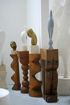 BRANCUSI studio in Paris
