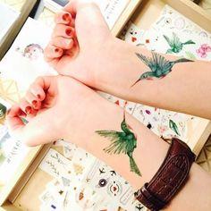 Hummingbird Tattoo   PAPERSELF