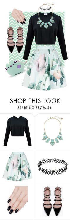 Baby Mint by lizzy-wheeler on Polyvore featuring Ted Baker, Zara, Kate Spade, ncLA, women's clothing, women's fashion, women, female, woman and misses