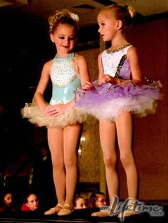 Cute photo of Chloe and Paige from #DanceMoms! #Friends