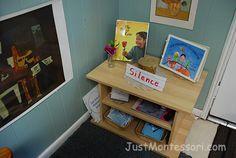 Montessori curriculum- first week of school