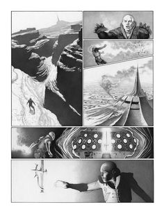 Ungoliantschilde — some Black and White artwork by Travis Charest. Comic Book Artists, Comic Artist, Comic Books Art, Black And White Comics, Black And White Artwork, Travis Charest, Comic Book Layout, Comic Frame, Gravure Illustration