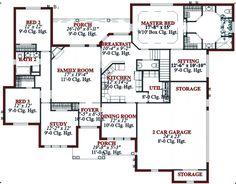 House Plan chp-52041 at COOLhouseplans.com