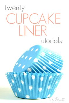 20 Cupcake Liner Crafts - who knew you could do so many things with cupcake liners?!