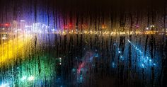 窗外灯火阑珊 - Pinned by Mak Khalaf 窗外灯火阑珊 Abstract 窗子玻璃水蒸气灯光效果窗外抽象城市夜晚灯火阑珊 by cbab4602a45ed93c5ea90c10736889709