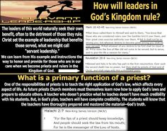 They follow the Lamb wherever he goes: How will leaders in God's Kingdom rule?
