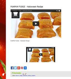 #Pumpkin #Fudge #Halloween #Recipe