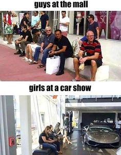 AS IF WE BUY CAR EVERYDAY AND SHOPPING ONCE IN 10 YEARS…LOL