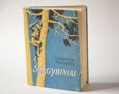 Soviet kids book Guards propaganda illustrations book by SovietEra, $8.00