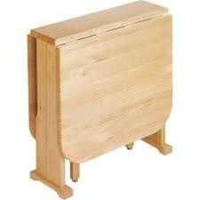 Resultado de imagen para mesas de madera con pata plegables