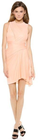 Alexander Wang Sleeveless Draped Dress sur shopstyle.fr