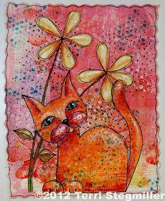 Terri Stegmiller art quilt