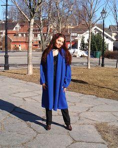 Lang jakke i Hifa 2 Oppskrift i www.tictail.com