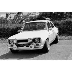 MK1 B&W Escort Mk1, Ford Escort, Ford Rs, Car Ford, Aussie Muscle Cars, Mk 1, Car Engine, Rally, Old School