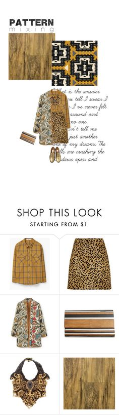 """#679"" by joktojotta ❤ liked on Polyvore featuring MANGO, McQ by Alexander McQueen, Sondra Roberts, Velvet Eccentric and patternmixing"
