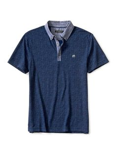 Slim-Fit Tile Pique Polo | Banana Republic