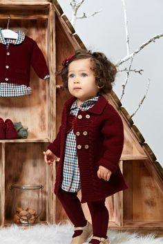 Girl clothes with Paz Rodriguez collection Fall Winter 2013 – 2014 - Baby Girl Outfits Outfits Niños, Teen Girl Outfits, Little Girl Outfits, Little Girl Fashion, Toddler Fashion, Toddler Outfits, Kids Fashion, Pinterest Mode, Cute Kids
