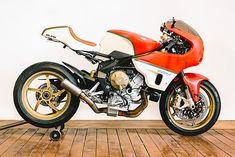 D'ORS OF PERFECTION. Walt Siegl's Immaculate MV Agusta Brutale Racer - Pipeburn.com