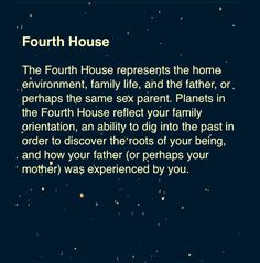 Pluto in Fourth House