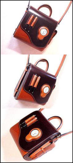 といった流れで懐中時計鞄の完成です。鞄制作に対するこだわりや想いを少しでも感じてもらえたら嬉しく思います。