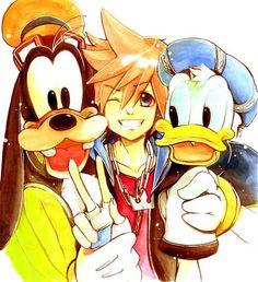 Sora-Donald-and-Goofy-kingdom-hearts-32341807-500-547.jpg (500×547)