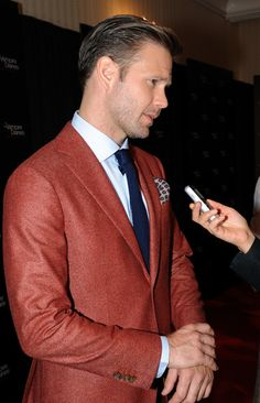 Matt Davis at The Vampire Diaries 100th Episode Celebration on November 9, 2013