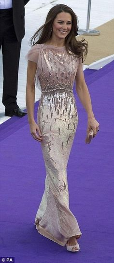 Kate Middleton - love the intricate details on a simply stunning gown
