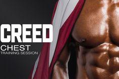 Тренировка грудных мышц от Рокки Бальбоа https://mensby.com/sport/muscles/6997-training-pectoral-muscles-rocky-balboa  Тренировка по мотивам фильма «Крид: Наследие Рокки». Готовы к новому испытанию? Теперь, когда вы придали форму своим мышцам пресса, пришло время накачать грудные мышцы с помощью наших новых упражнений.