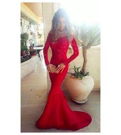 Czerwona suknia wieczorowa. Czerwone sukienki na wesele, studniówkię, karnawał. - Sklep internetowy StyliJa - Odzież damska