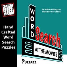 Word Search at the Movies (Kindle Edition)  http://www.rereq.com/prod.php?p=B006C8MTW6  B006C8MTW6