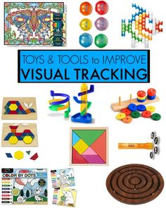 Visual Tracking toys