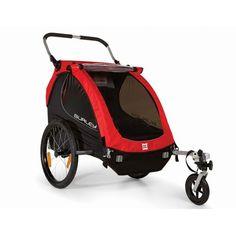 Burley Honey Bee Kinderanhänger 2014 incl. Walking-Set - bike box
