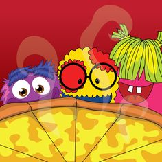 The Wiblets enjoying National Cheese Pizza Day!  #gluttenfree  for #Dudley #thewiblets #pizzahut #papajohns #dominospizza
