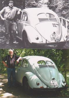 Since 1942: this is the oldest Beetle in circulation on the planet. This is the Käfer 1942 of Otto Weymann.