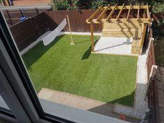 Garden Design Ideas - New ideas Back Garden Design, Modern Garden Design, Backyard Patio Designs, Small Backyard Landscaping, Simple Backyard Ideas, Garden Sitting Areas, Small Garden Landscape, Design Jardin, Garden Makeover