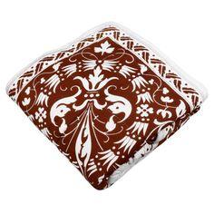 Weiße Motiven Auf Brown Quilt König Größe-Baumwoll-Voile-Gewebe 243 cm x 238 cm ShalinIndia http://www.amazon.de/dp/B00G91RE76/ref=cm_sw_r_pi_dp_SRj5tb1D89Q3P