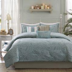 Madison Park Seaside 7-Piece Comforter Set - Overstock™ Shopping - Great Deals on Madison Park Comforter Sets