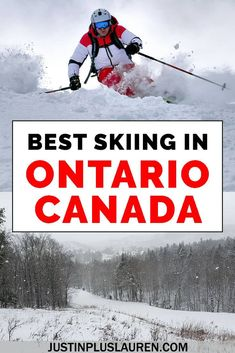 There are lots of great ski resorts in Ontario, Canada. If you're looking to go skiing in Ontario, here are the top 5 places for a skiing or snowboarding trip. Ottawa, Go Skiing, Skiing Colorado, Vancouver, Toronto, Travel Usa, Travel Tips, Travel Destinations, Winter Destinations
