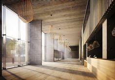 Visualización en Arquitectura: Maison du Batiment d'Aquitaine / Pawel Podwojewski,© motyw