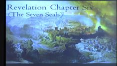"Revelation - ""Chapter 6"" The Seventh Seal, Christian Videos, New Testament, Bible, Study, Biblia, Studio, Investigations, Studying"