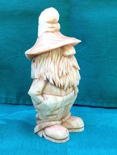 Hand Carved Moonshiner Wood Carving Handmade Art by RWKWoodcarving