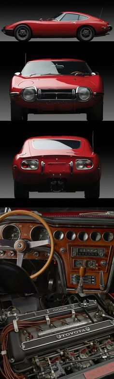 The best looking Japanese car ever produced. 1967 Toyota 2000GT
