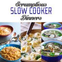 Scrumptious Slow Cooker Dinners - The Cottage Market #SlowCookerDinners, #SlowCookerMeals, #SlowCookerRecipes