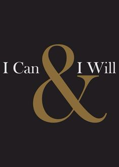 Yes You Can!