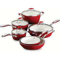 David Burke 10piece Stainless Steel Cookware Set