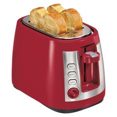 Hamilton Beach 2-Slice Warm Mode Toaster - Red : Target