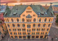 The Cat House building in Riga. Malta, Baltic Region, Riga Latvia, Architecture Old, Lithuania, Helsinki, Building A House, City, Landscape