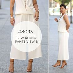 Step-by-step tutorial by @mimigood on how to sew pants using Simplicity pattern 8093!